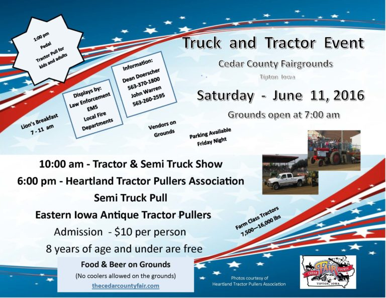 2016 Truck & Tractor Event