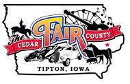THE CEDAR COUNTY FAIR - Tipton,  Iowa